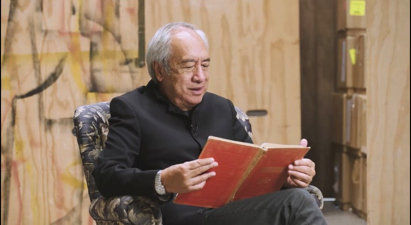 Witi Ihimaera reads his poem 'Our Watch Now'